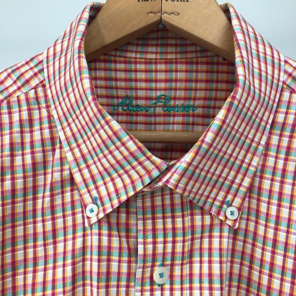 Alan Flusser Other - Men's Colorful Button-Down Shirt